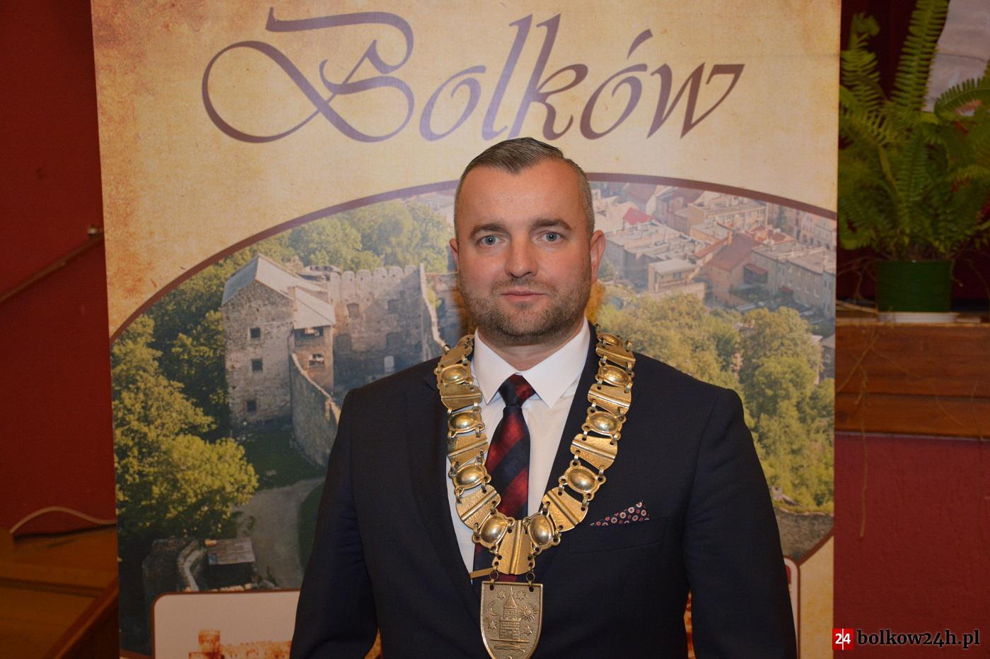 (FILM) Grzegorz Kucab objął urząd burmistrza Bolkowa